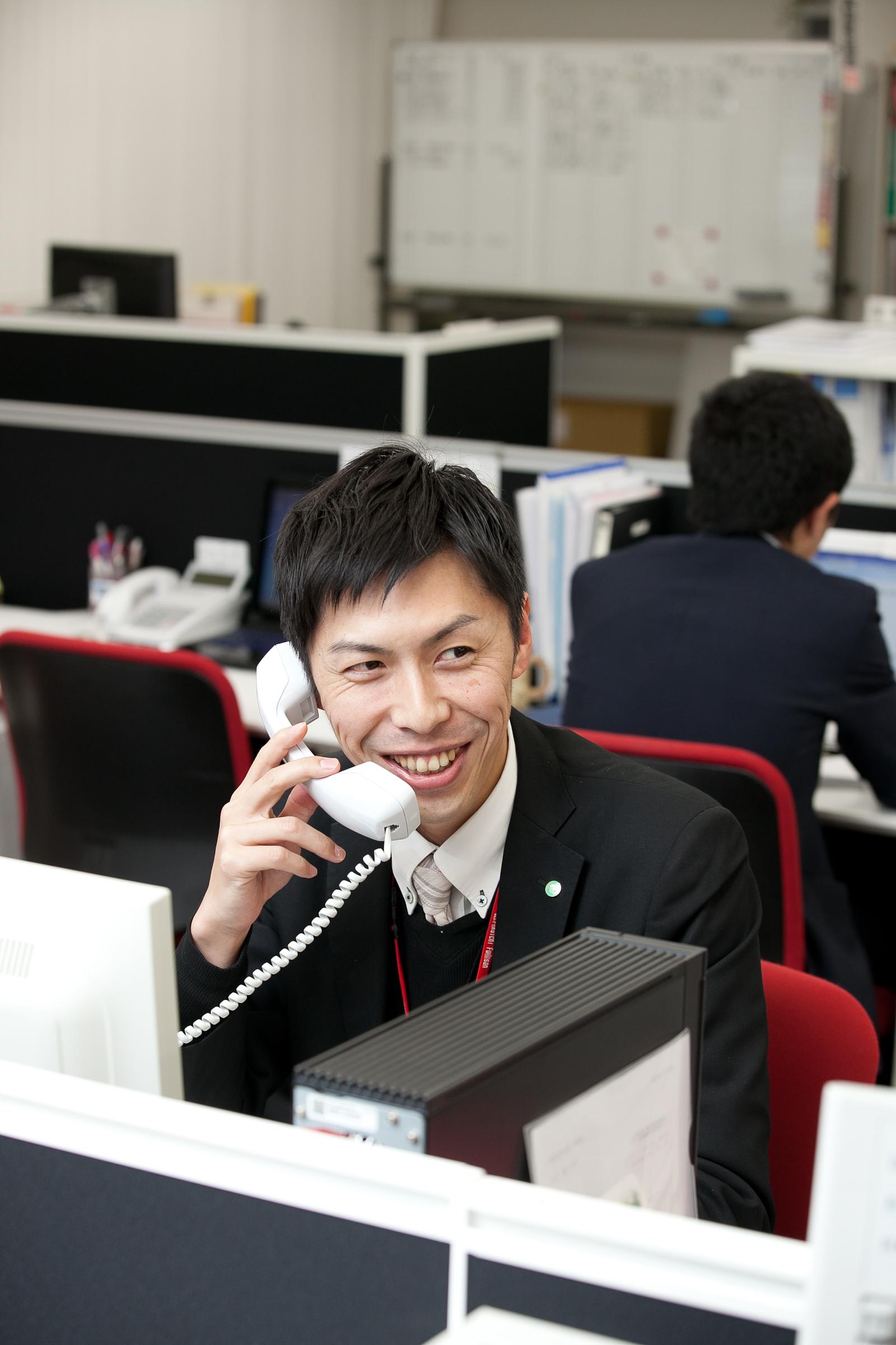 ご入居頂いているお客様へのアフターフォローも24時間体制で行っております。