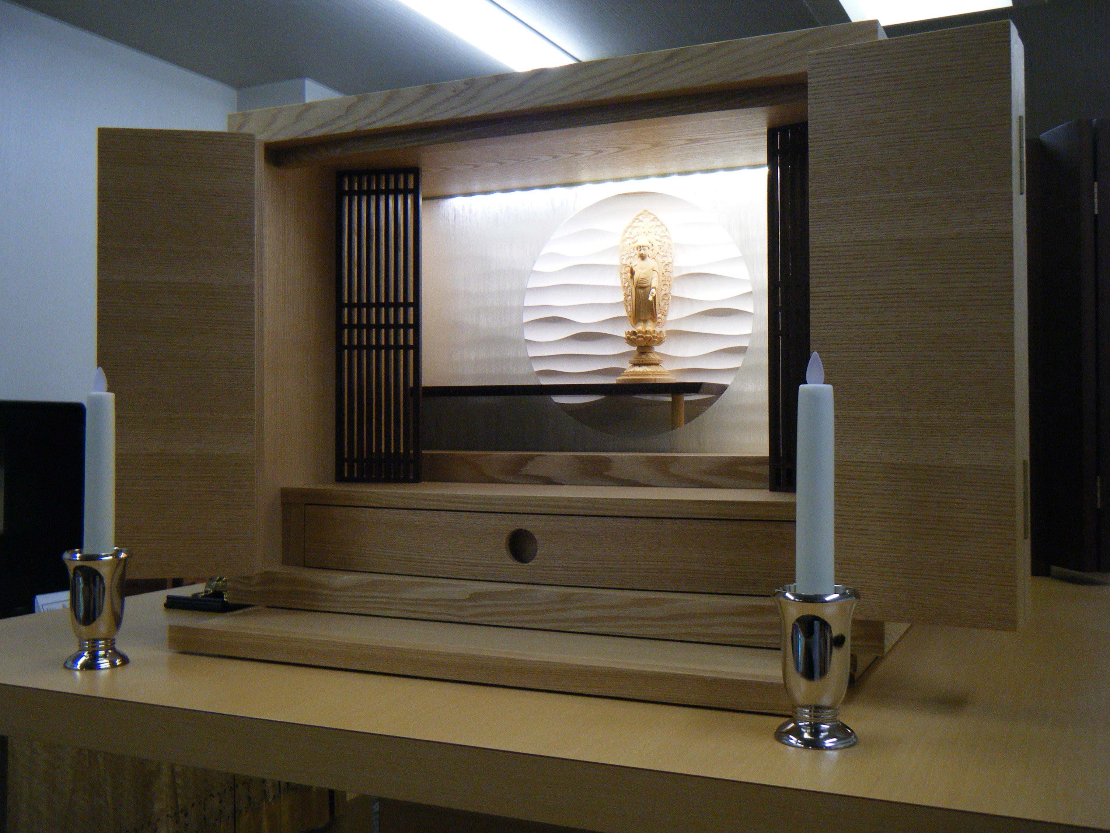 現代の様式に合ったお仏壇のご提案を致します。