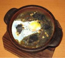 昭和30年代最初に作られたこれぞ元祖ビーフ入り焼きカレー。